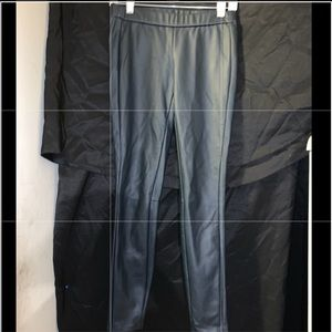 Armani Exchange Faux Leather Jeggings